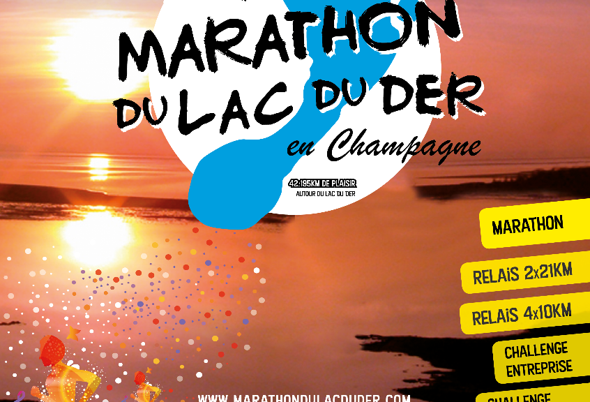Flyer Marathon du Der 2017